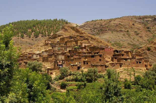 Valea Ourika din Maroc O evadare in Valea Ourika din Maroc berberi in ourika