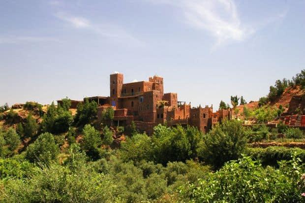Valea Ourika din Maroc O evadare in Valea Ourika din Maroc kasbah ourika