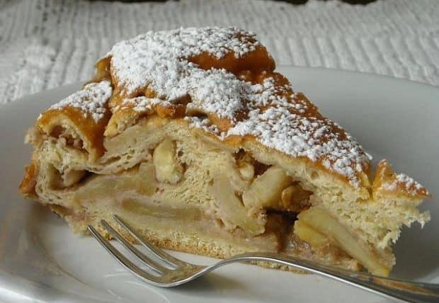 Retetele lumii: Torta Rustica di Mele (Italia) torta mele