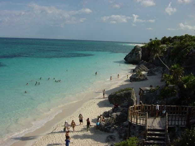 Mexic - descopera tara mayasilor tulum beach