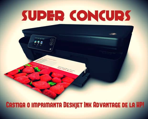 SUPER-CONCURS! Castiga o imprimanta HP Deskjet Ink Advantage 6525 e-All-in-One hp