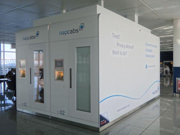 Napcabs - cutiile de somn din aeroportul din Munchen