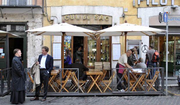Cul de Sac  Cele mai bune restaurante si localuri din Roma Cul de Sac