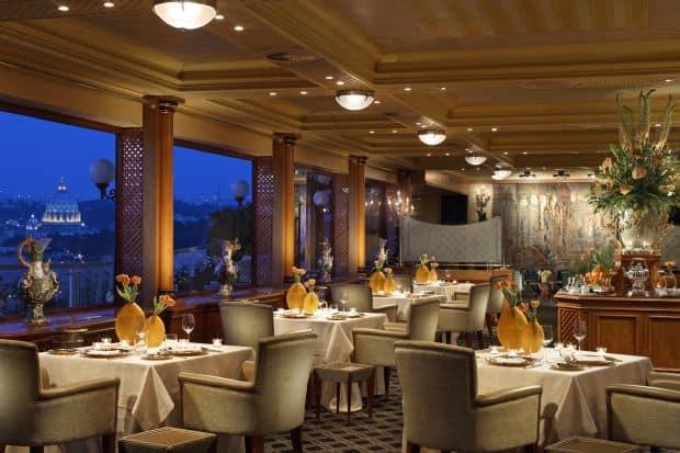 La Pergola  Cele mai bune restaurante si localuri din Roma la pergola1