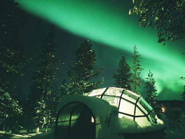 Deja celebrele igluuri finlandeze