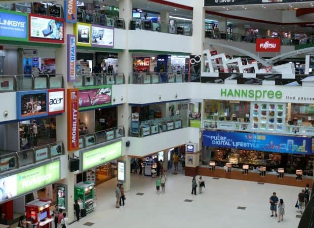 Piata Sim Lim, paradisul electronicelor singaporeze