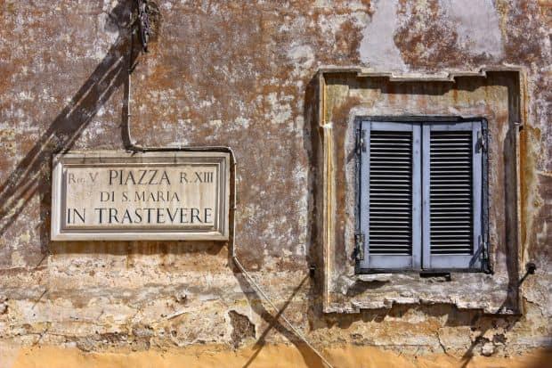Trastevere, poate cel mai frumos cartier roman