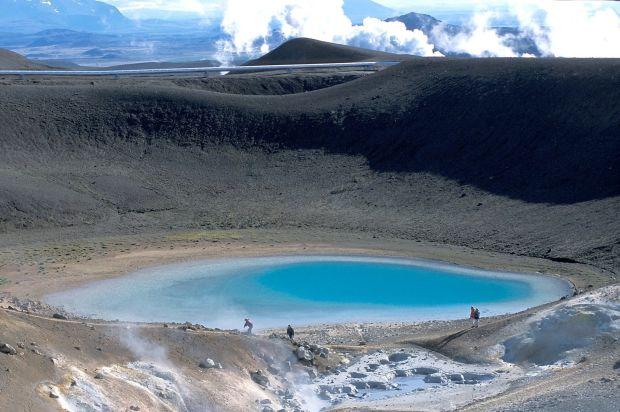 Un splendid lac vulcanic: Mývatn islanda Islanda - frumusetea grandioasa a Nordului M  vatn