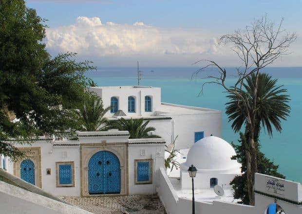 Sidi Bou Said, o simfonie in alb si albastru