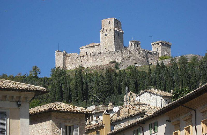 Castelul din Assisi