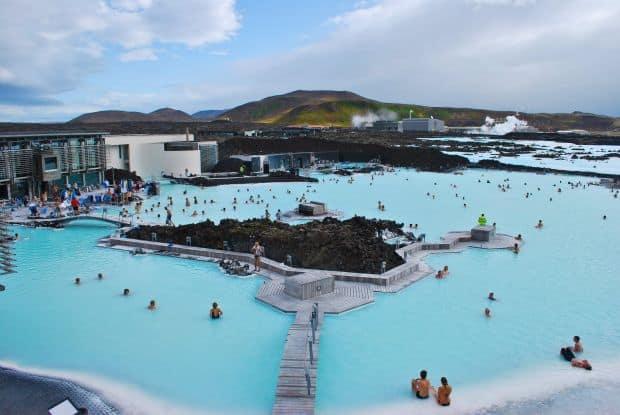 Laguna Albastra, un spa celebru in toata lumea islanda Islanda - frumusetea grandioasa a Nordului blue lagoon