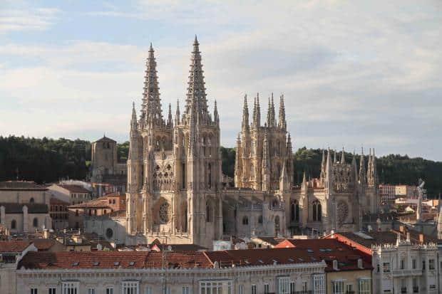 Burgos este un loc plin de istorie, cu monumente aflate pe lista UNESCO