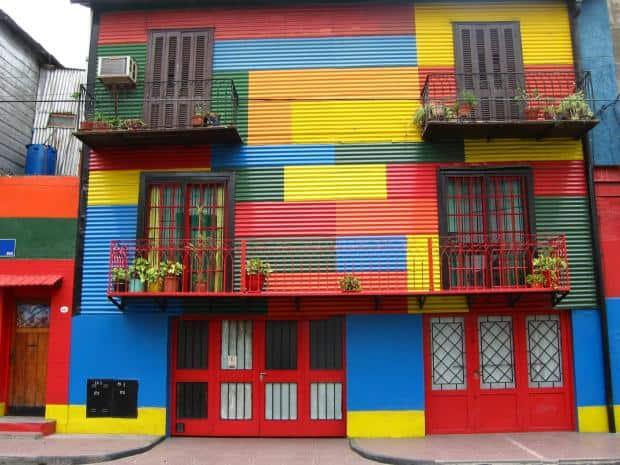 La Boca este cartierul cel mai plin de culoare din Buenos Aires Foto: Paula Soler Moya