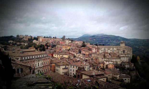 Perugia este capitala Umbriei