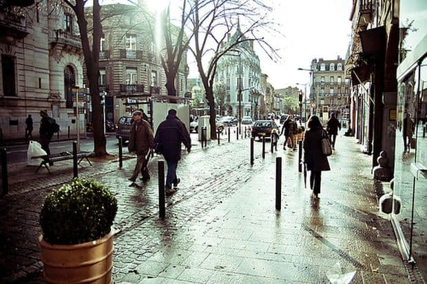 Elegantul cartier Les Carmes