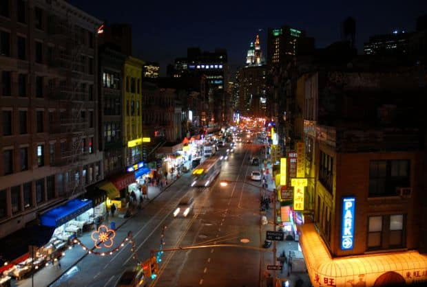 Probabil cel mai celebru Chinatown american: cel din Manhattan