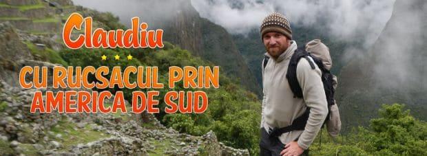clau feat mic Claudiu - Cu rucsacul prin America de Sud (2) clau feat mic