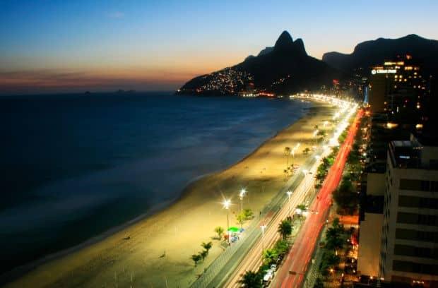 O alta plaja celebra: Ipanema