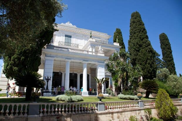 Palatul Achillion  10 lucruri de vazut in insula Corfu Achillion