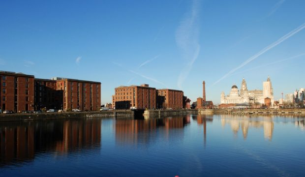 Albert Dock, din Liverpool