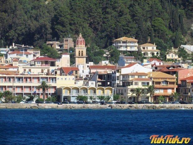 Zakynthos, de pe mare