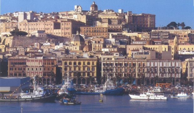 Cagliari e un oras cu un farmec aparte