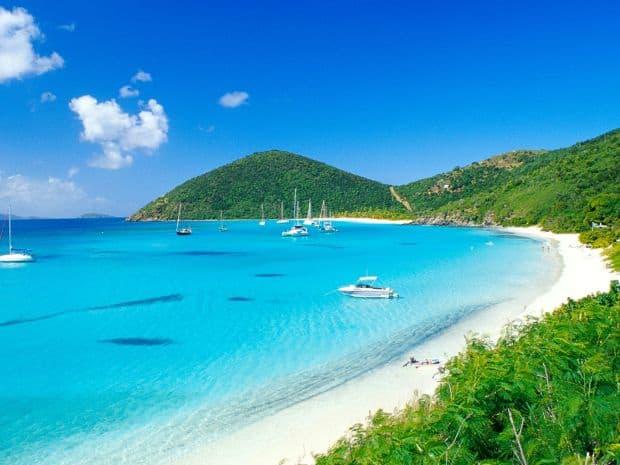 Aproape ai zice ca sunt virgine cu adevarat Cele mai bune insule din Caraibe pentru petrecerea lunii de miere virgin islands