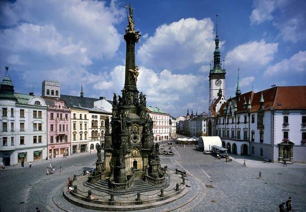 Olomouc este unul dintre cele mai frumoase orase ale Cehiei