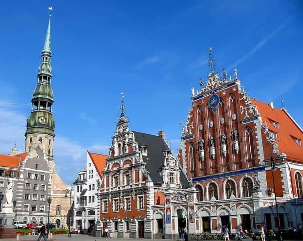 Centrul orasului: absolut superb!  Ce poti face in Riga, capitala Letoniei riga3
