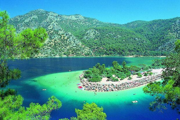 Ölüdeniz - laguna albastra  Coasta de turcoaz a Turciei   l  deniz