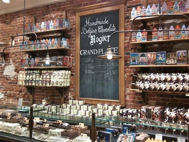Senzatia Bruxelles-ului: ciocolata!