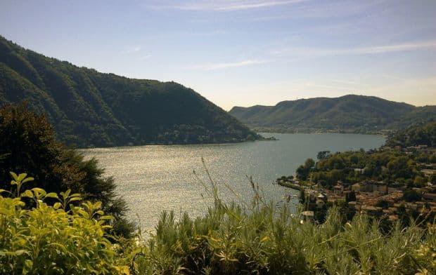 Priveliste de la restaurantul Gatto Nerro lacul como Lacul Como: o destinatie de clasa Gatto Nerro