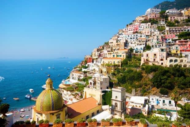 Peisaje care-ti taie rasuflarea  Coasta Amalfi, splendoarea vestica a Italiei amalfi2