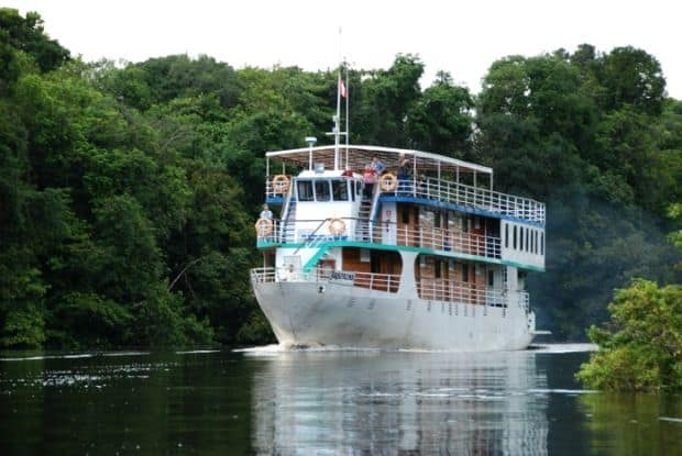 Incitanta croaziera pe Amazon