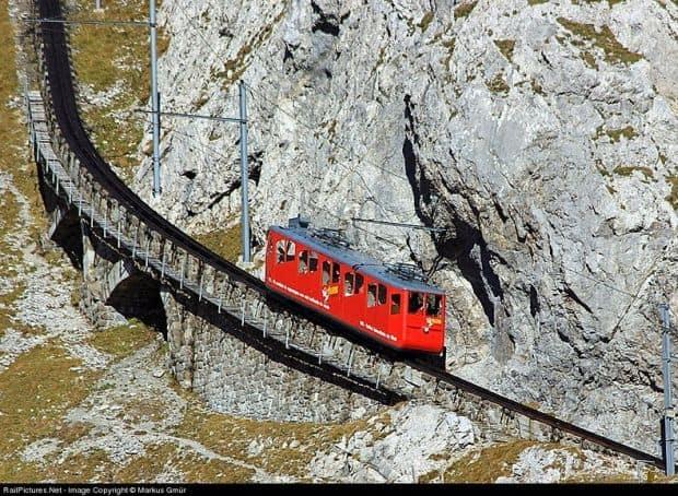 cf1 Cea mai abrupta cale ferata din lume Cea mai abrupta cale ferata din lume cf1