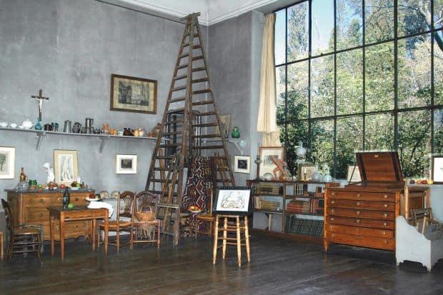 Atelierul lui Cezanne
