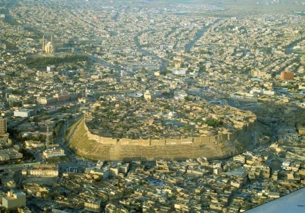 erbil1 Orasul-citadela Erbil, din Irak Orasul-citadela Erbil, din Irak erbil1