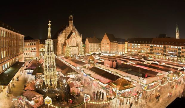 Nuremberg  5 superbe targuri de Craciun Nuremberg