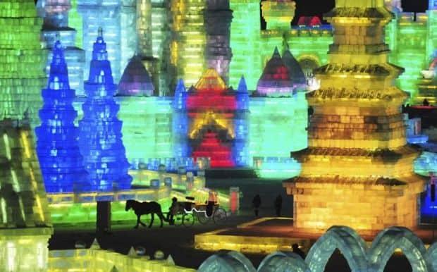 2 Sculpturi magice la Festivalul de la Harbin Sculpturi magice la Festivalul de la Harbin 2