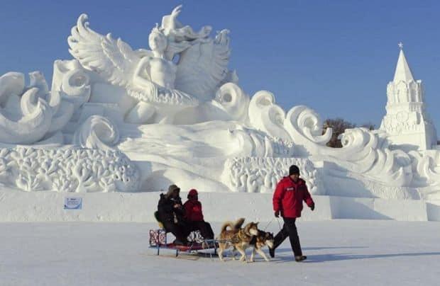 4 Sculpturi magice la Festivalul de la Harbin Sculpturi magice la Festivalul de la Harbin 4
