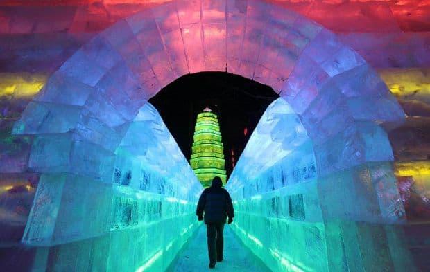 China Harbin Harbin International Ice and Snow Festival