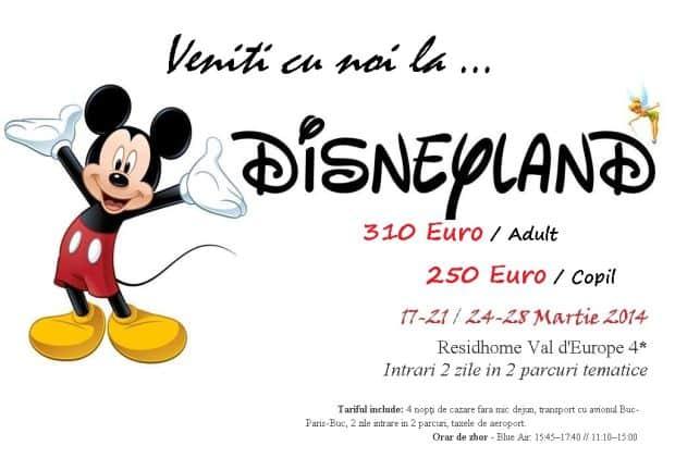 stefan  Disneyland in martie, la super-pret! stefan