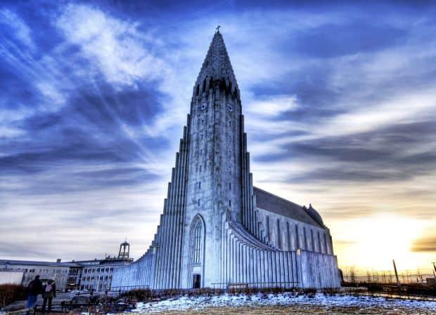 Celebra biserica Hallgrímskirkja (Foto: Trey Ratcliff)