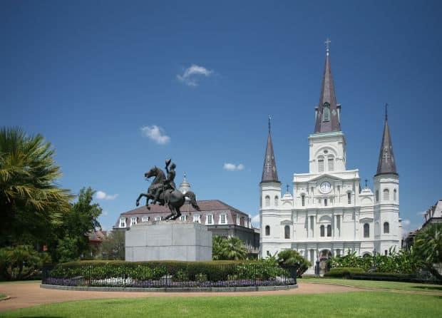 Jackson_Square new orleans, o destinatie aproape obligatorie New Orleans, o destinatie aproape obligatorie Jackson Square