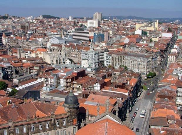 Cartierul Clerigos porto Ce sa faci si ce sa vezi in Porto clerigos