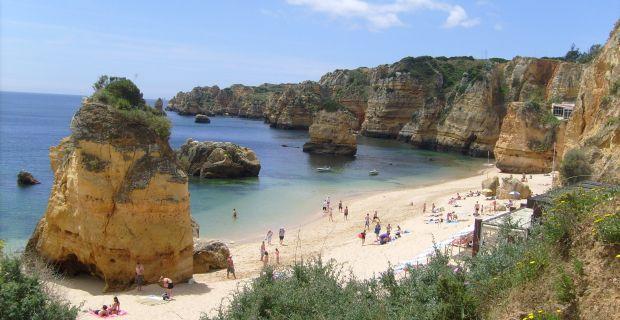 cele mai bune plaje din portugalia Cele mai bune plaje din Portugalia Praia Dona Ana1