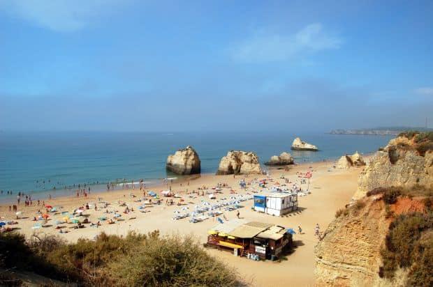 Praia da Rocha cele mai bune plaje din portugalia Cele mai bune plaje din Portugalia Praia da Rocha