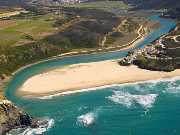 Praia de Odeceixe cele mai bune plaje din portugalia Cele mai bune plaje din Portugalia Praia de Odeceixe