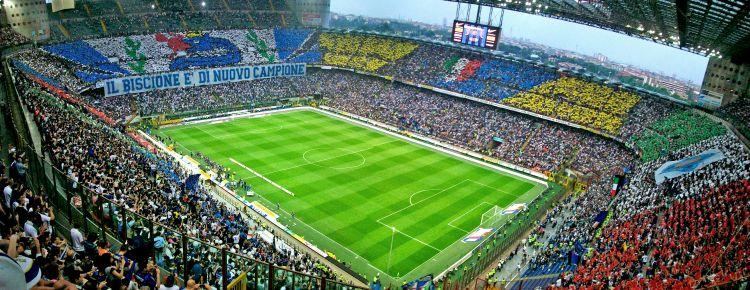 Pentru iubitorii fotbalului: un meci live pe stadionul Giuseppe Meazza! 20 de lucruri obligatoriu de facut in italia (2) 20 de lucruri obligatoriu de facut in Italia (2) sansiro