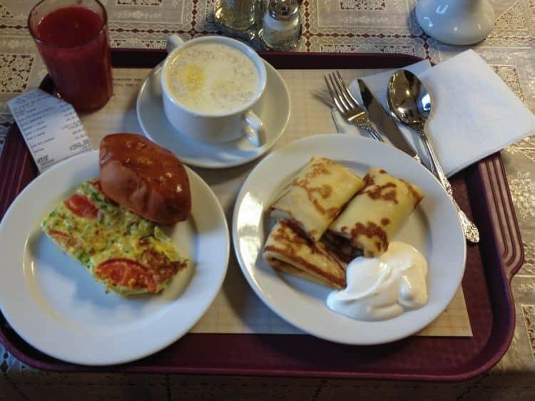 Clatite la micul dejun, pentru rusi